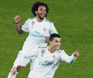 cristiano, football, and friendship image