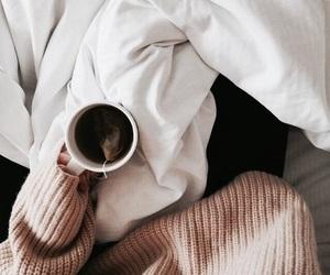 coffee, sweater, and tea image