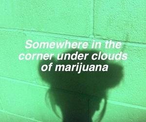 marijuana, green, and grunge image