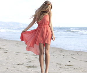 beach, her, and just image