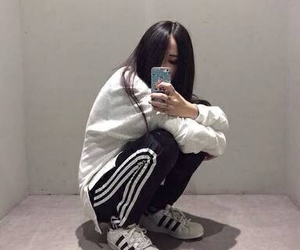 adidas, outfit, and tumblr image