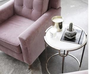 interior, decor, and pink image