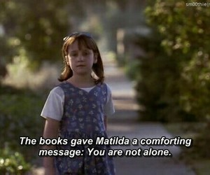 books, matilda, and movie image