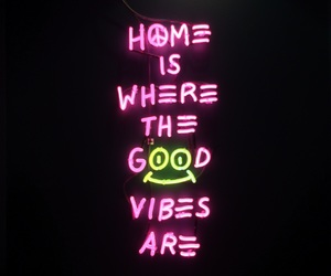 neon, pink, and quotes image