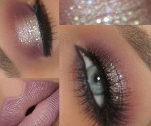 beauty, makeup, and new years eve makeup image