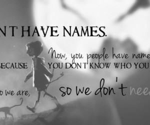 coraline and quote image