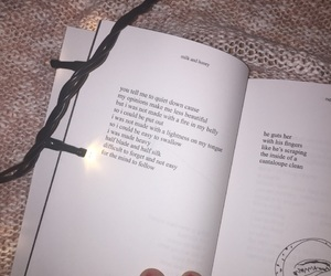 book, femine, and honey image