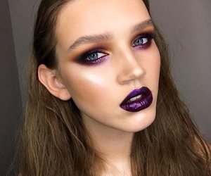 beauty, makeup, and makeup looks image
