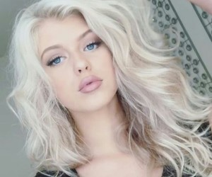 blonde, makeup, and loren gray image