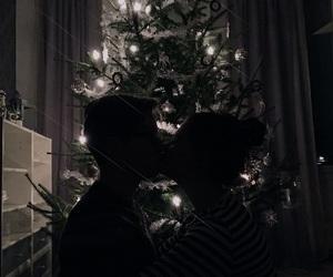 boyfriend, christmas, and christmas lights image