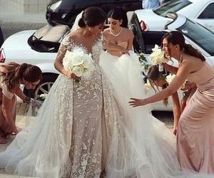 wedding, girl, and makeup image