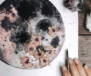 art, floral, and artist image