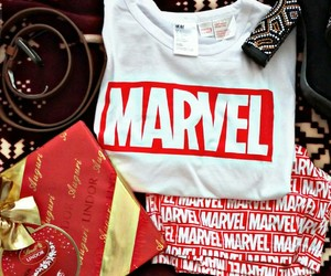 christmas, gift, and Marvel image