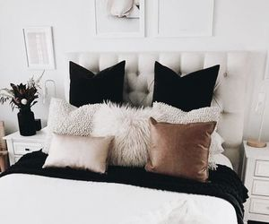 home, bedroom, and bed image