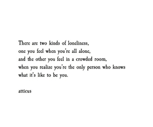 atticus, deep, and loneliness image