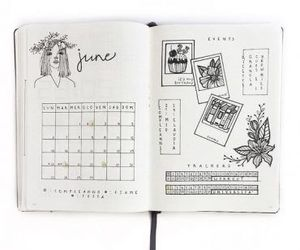 notes, bujo, and bullet journal image