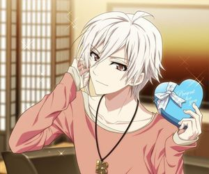trigger, white hair, and tenn kujo image