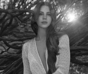 alternative, black and white, and lana image