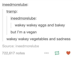 funny and vegan image