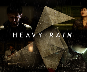 game, video game, and heavy rain image