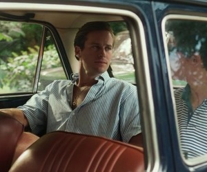armie hammer, call me by your name, and movie image