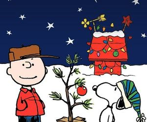 charlie brown, christmas, and iphone image