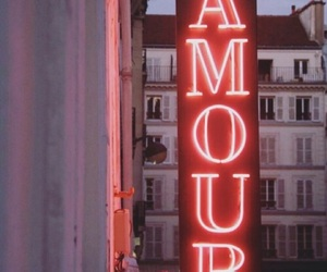 amour, couple, and motel image