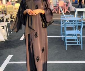 abaya and black image