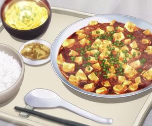anime, food, and gifs image