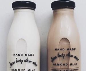 almond milk, christmas, and wallpaper image