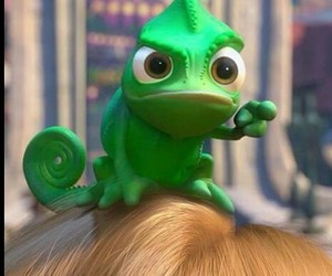 disney, tangled, and green image