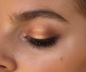 makeup, girl, and eye image
