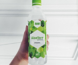 green, aloevera, and instagram image
