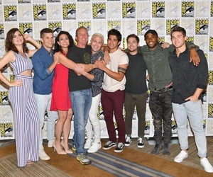 cast, teen wolf, and comic con image