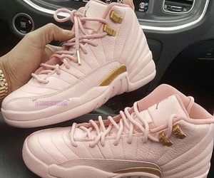 pink, shoes, and jordan image