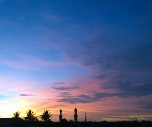 pastel, sky, and sunsets image