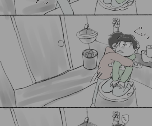 incest, osomatsu-san, and choromatsu image