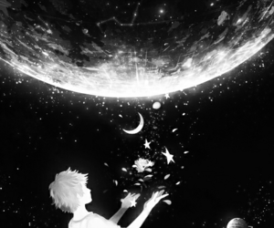 stars, anime, and art image