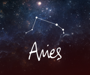 aries, galaxy, and sign image