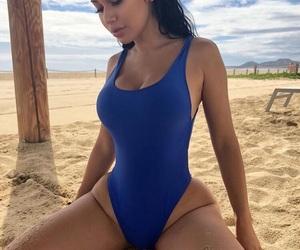 bikini, body, and girl image
