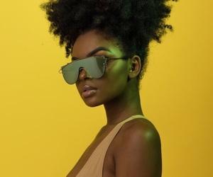 yellow, beautiful, and melanin image
