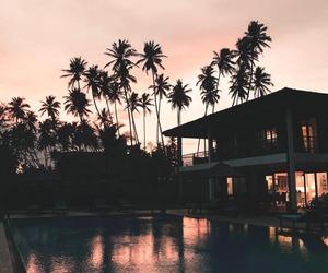 amazing, dream house, and sunset image