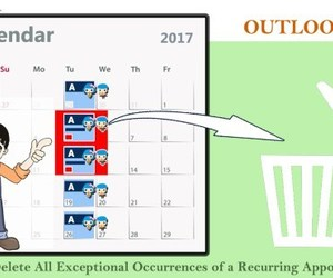 recurrence, outlook vba, and scanpst image