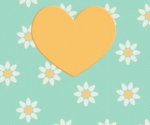 pattern, flowers, and daisy image