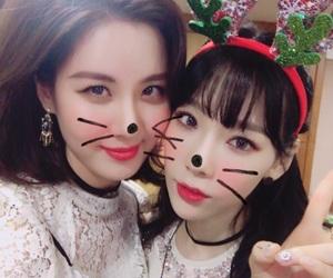 snsd, taeyeon, and seohyun image