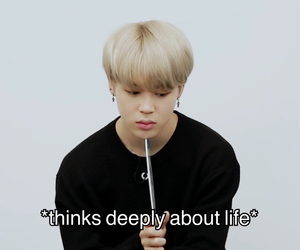 bts, jimin, and meme image