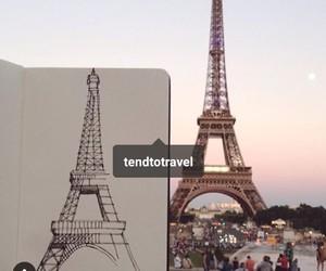 dibujos, parís, and torre ifel image