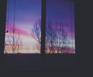 window, sky, and tumblr image