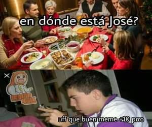 meme, navidad, and memes en español image