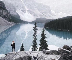nature, travel, and winter image